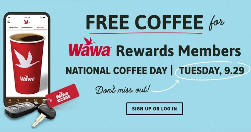 wawa coffee day