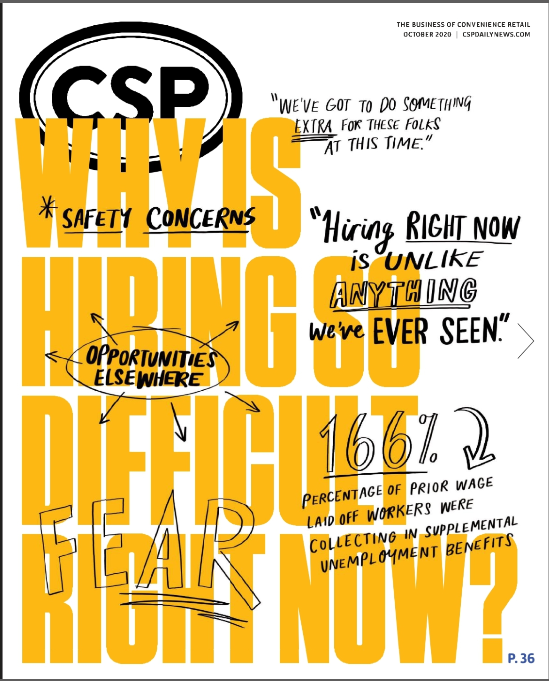 CSP Daily News Magazine Why is Hiring so Difficult Right Now?  Issue