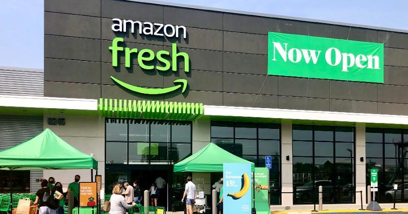 Amazon Fresh exterior