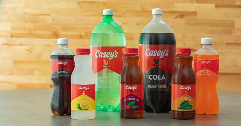 Casey's brand beverages