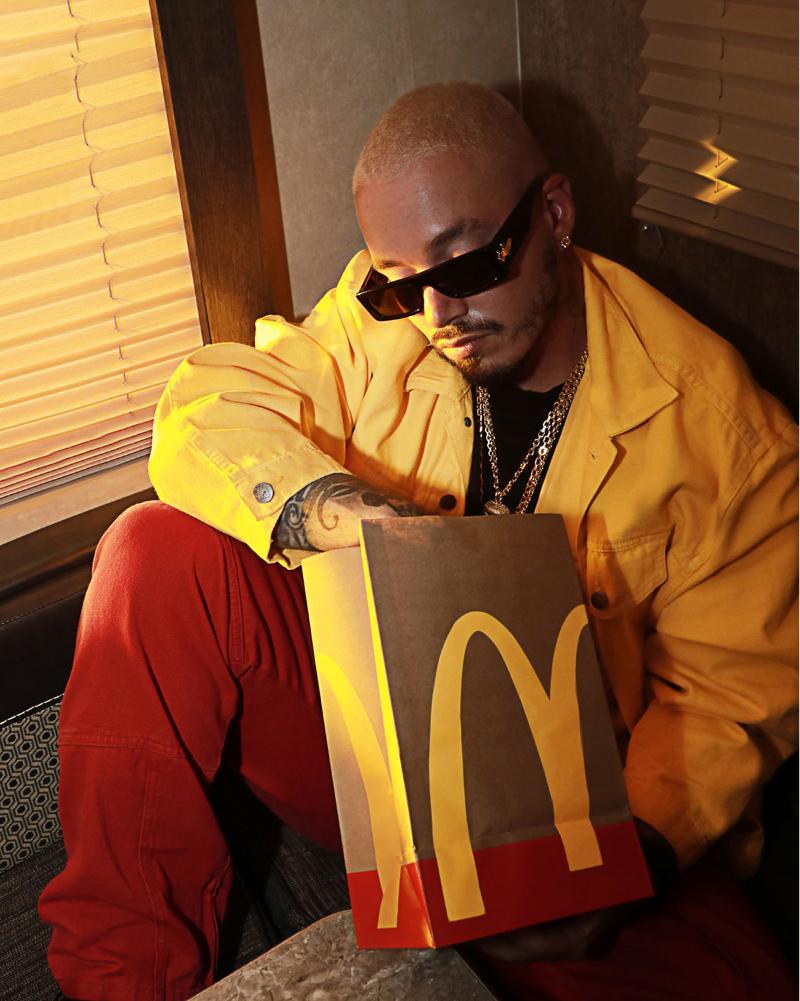 J-Balvin McDonald's