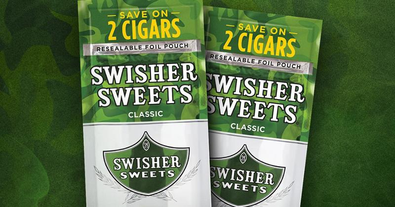 swisher sweets green cigarillos