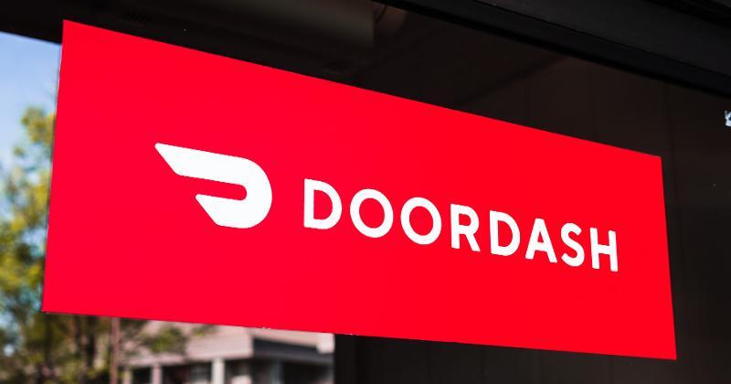 DoorDash sign