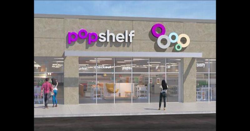Popshelf storefront
