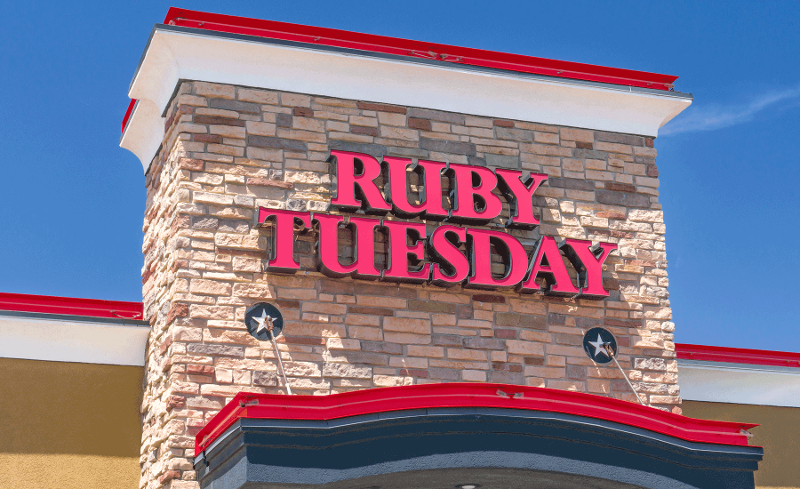 Ruby Tuesday bankruptcy