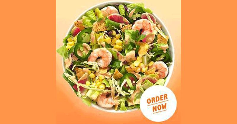 Baja Shrimp Taco Salad