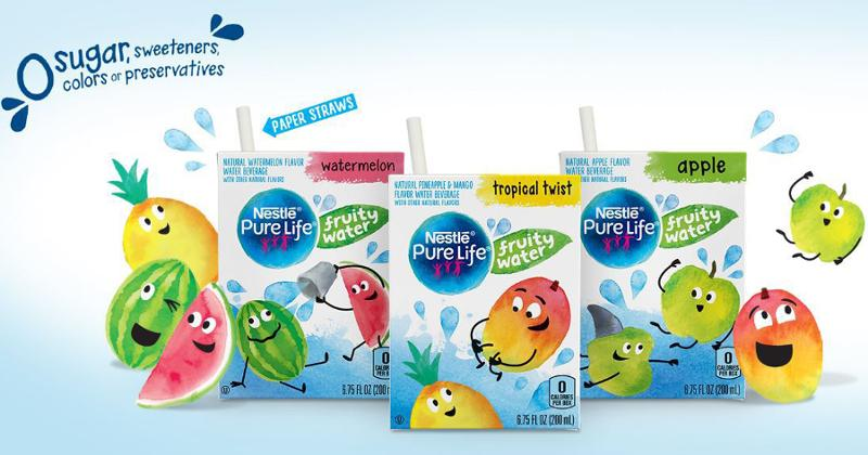 Nestle Pure Life Fruity Water