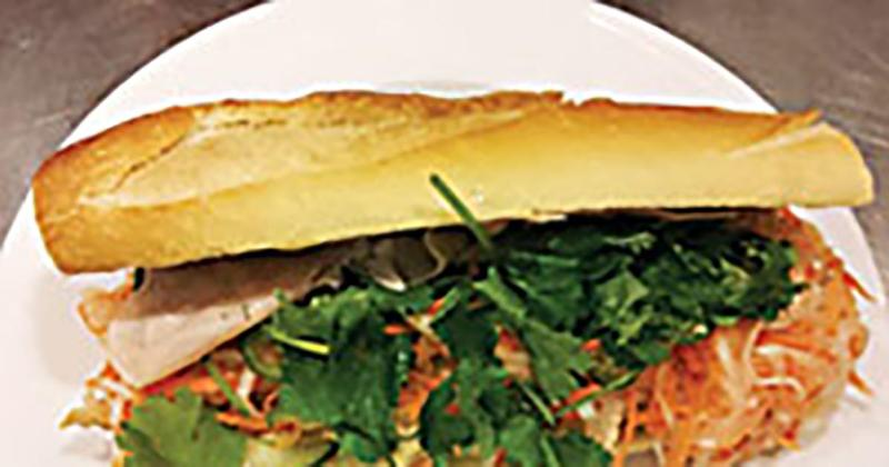 Banh Mi Sandwich with Lemongrass Chicken