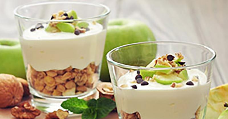 Apple Pie Yogurt Parfait