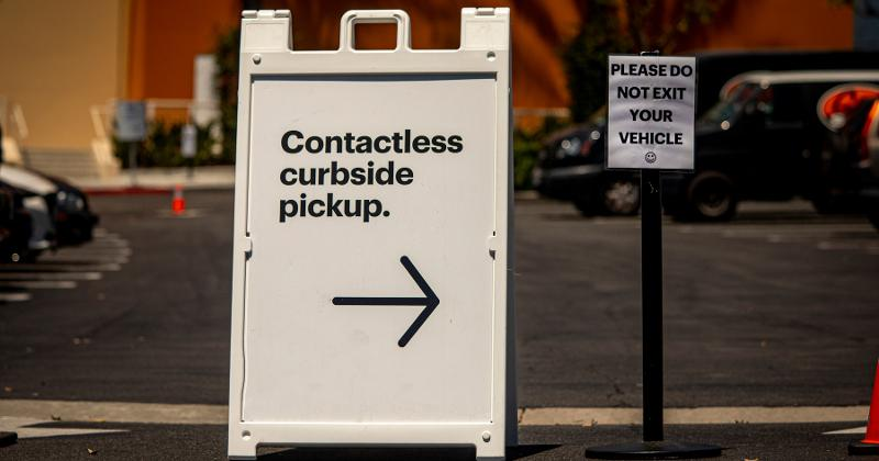 contactless pick up
