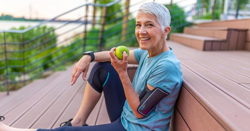 senior healthy living