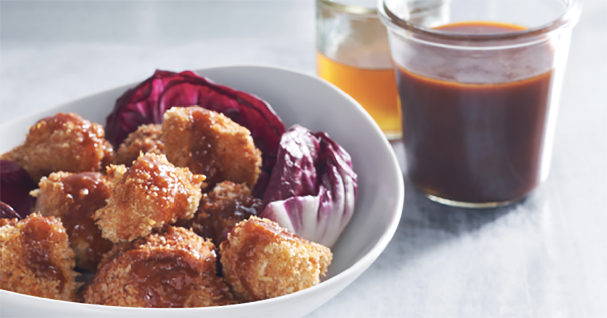 Hot Honey Cauliflower Wings
