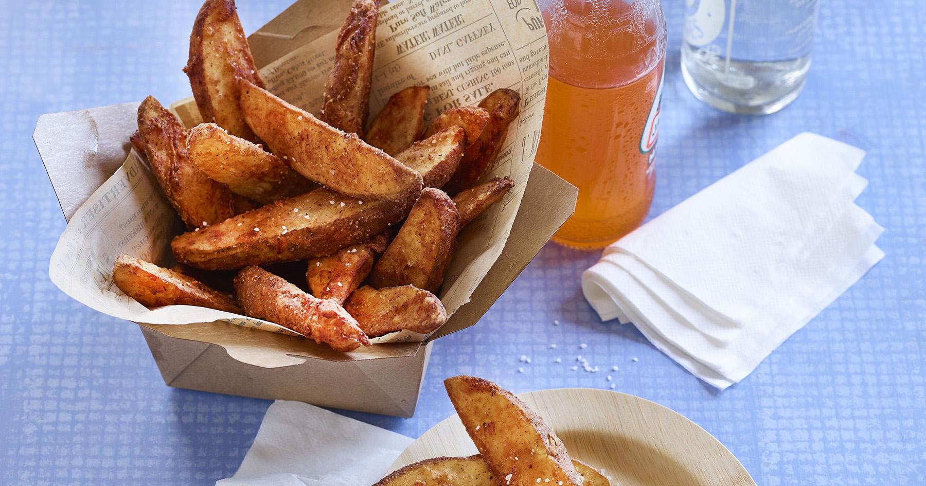 Spicy Buttermilk Fries