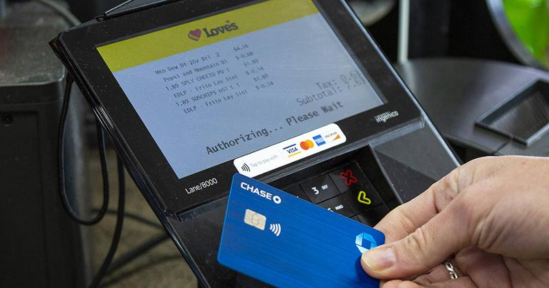 Love's contactless payments