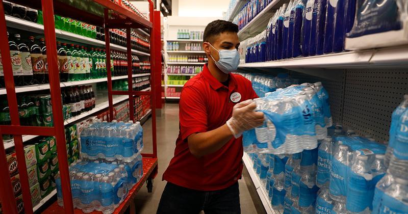 Target in-store restocking