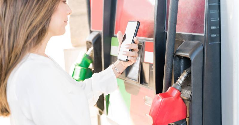 paying at the pump