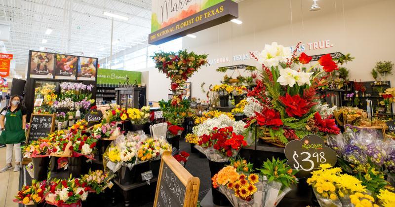 H-E-B floral department
