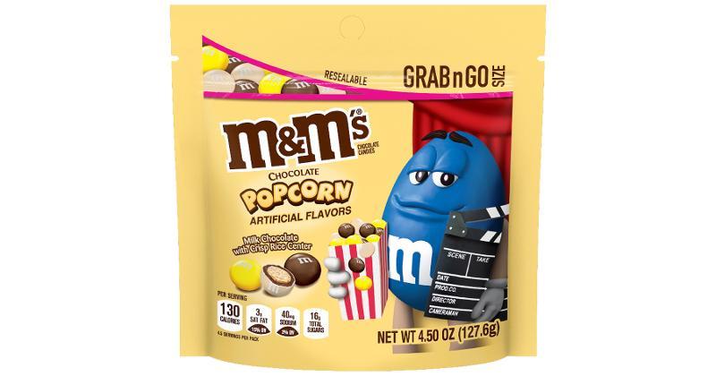 M&M's Chocolate Popcorn