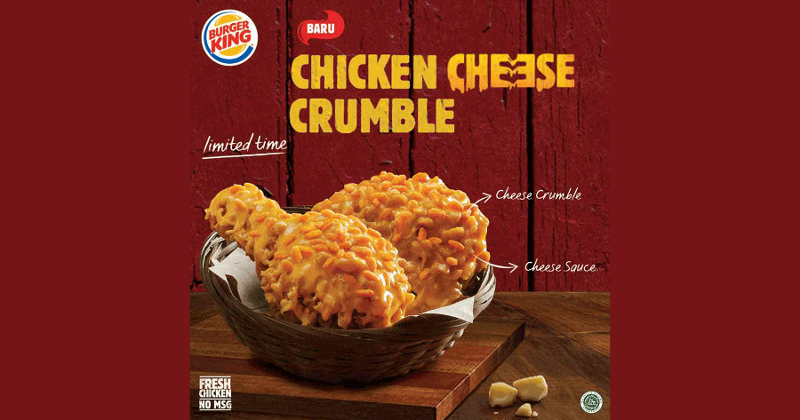 Chicken Cheese Crumble