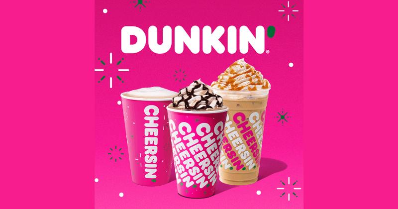 Dunkin Holiday Drinks