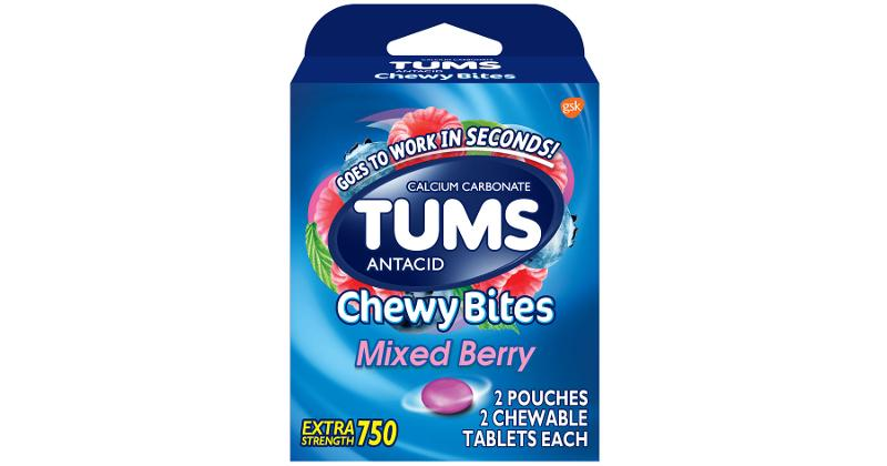 Tum Chewy Bites 4ct., Mixed Berry