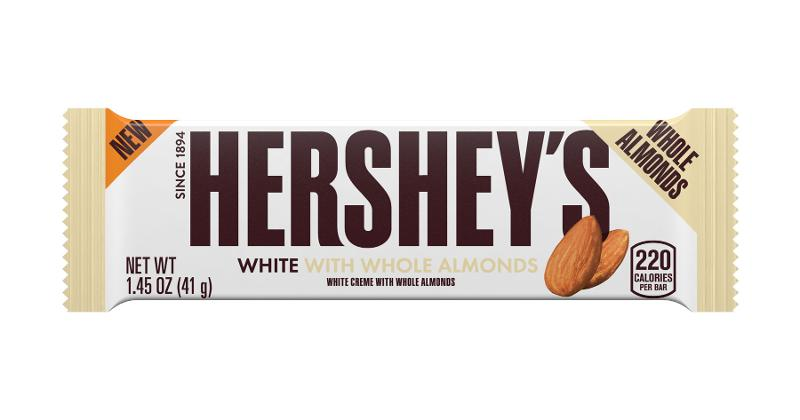 Hershey's White with Whole Almonds Bar