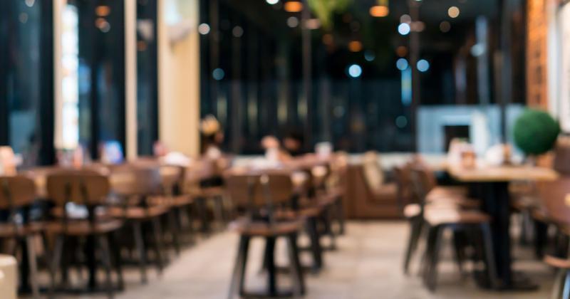 blurry dine in