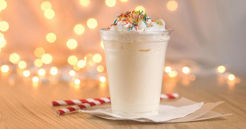 holiday milkshake