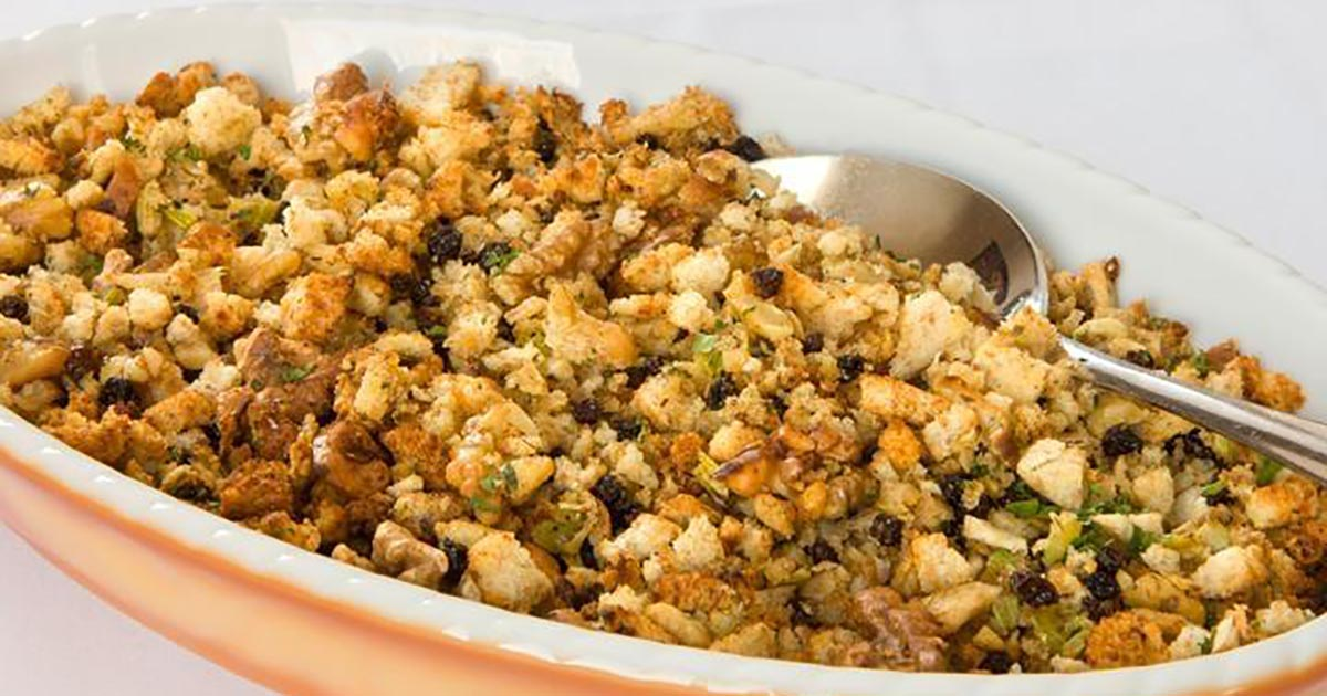 walnut cornbread stuffing
