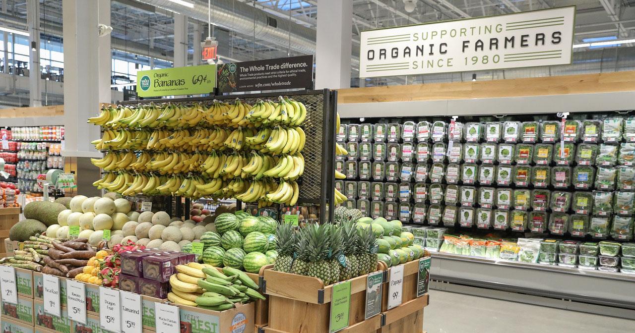 whole foods organic produce