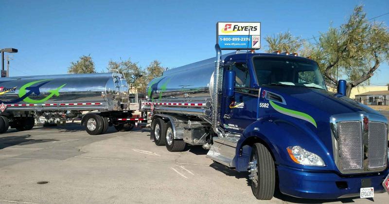 Flyers truck