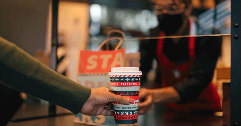 Starbucks takeout