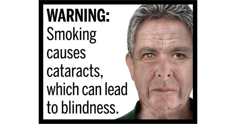 Cigarette Health Warning