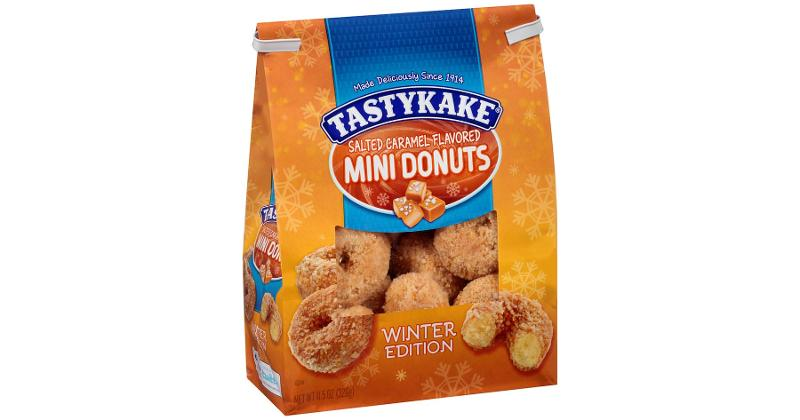 Salted Caramel Flavored Mini Donuts