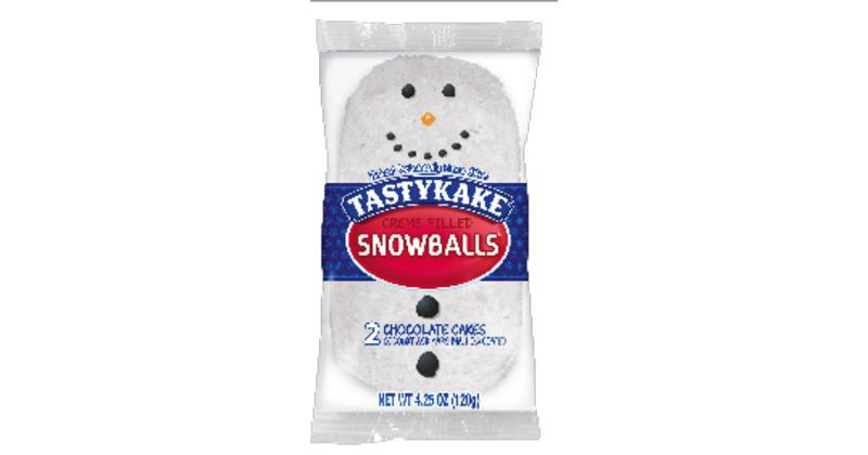 Snowman Creme Filled Snowballs