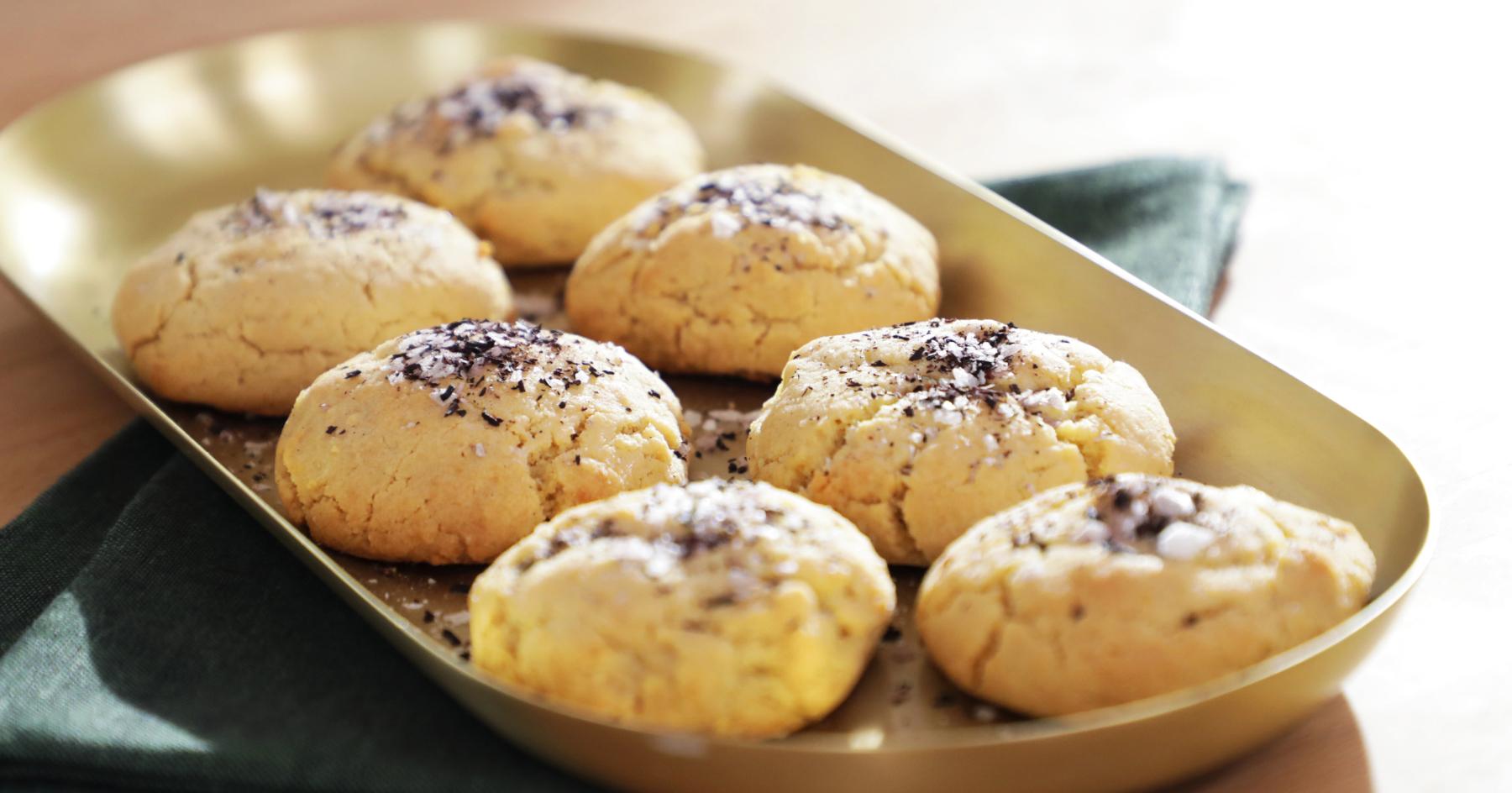 Lemon cheese cookies