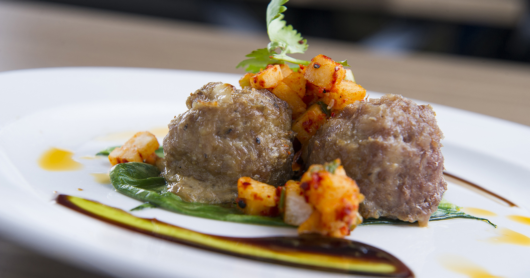 Sweet Sour Lamb Meatballs
