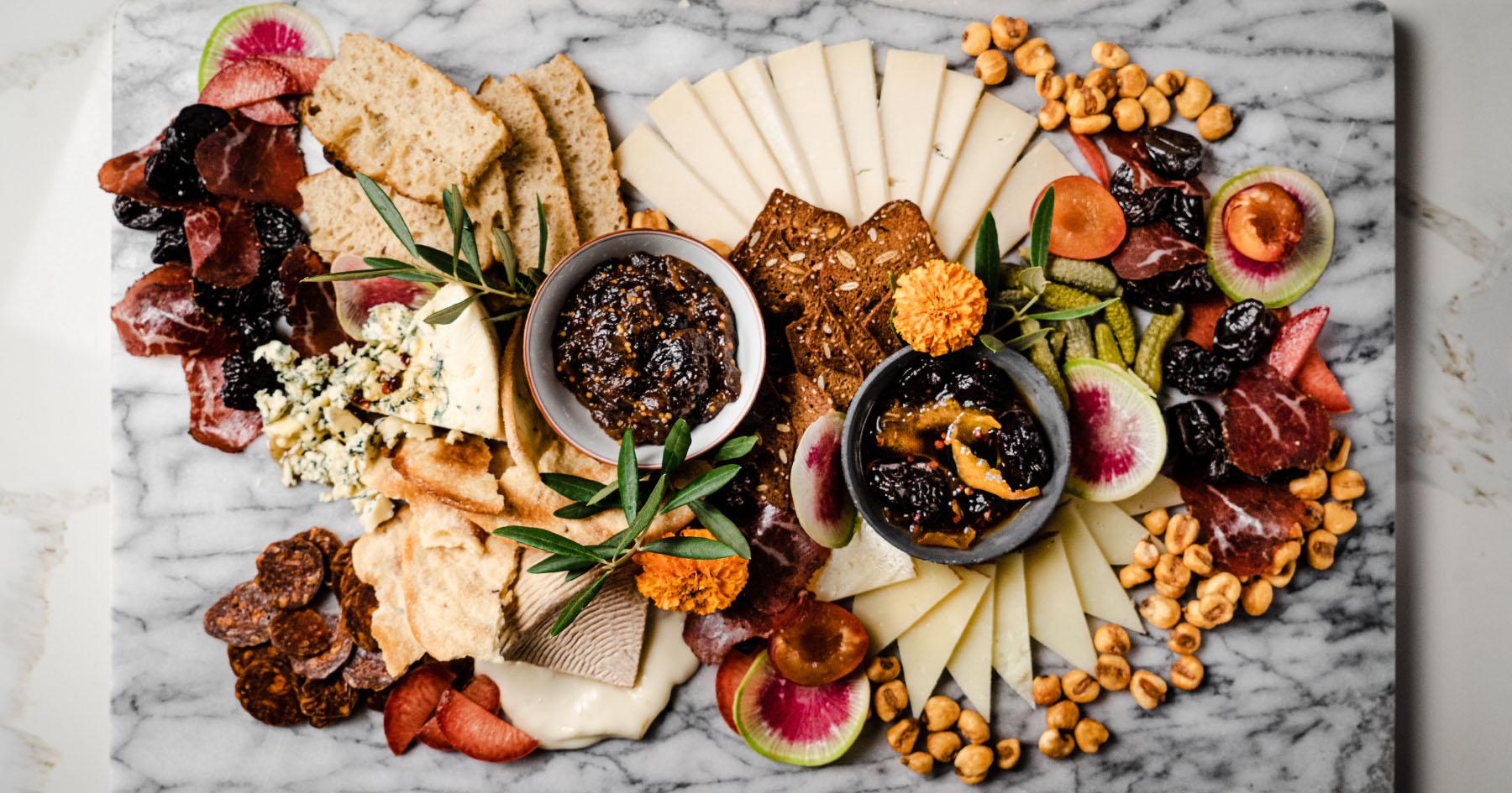 Ultimate Cheese Board Prune Mostarda