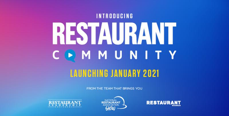 Restaurant Community Launching January 2021