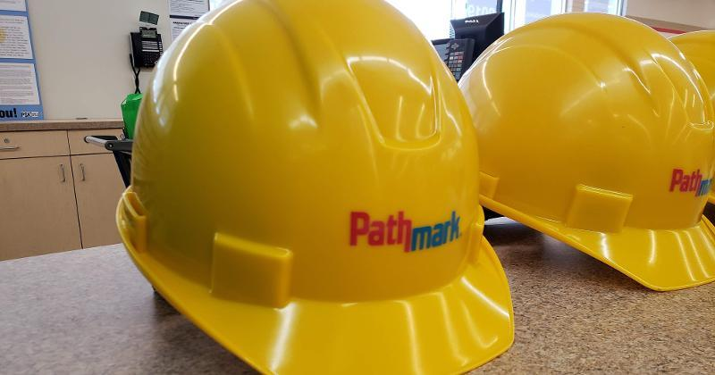 Pathmark hard hat