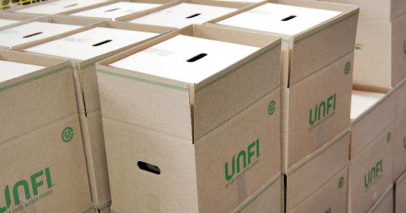 UNFI boxes