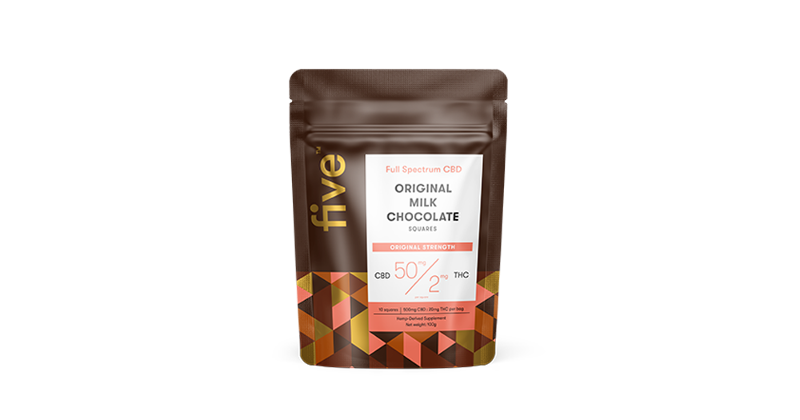 Five original milk chocolate 50g