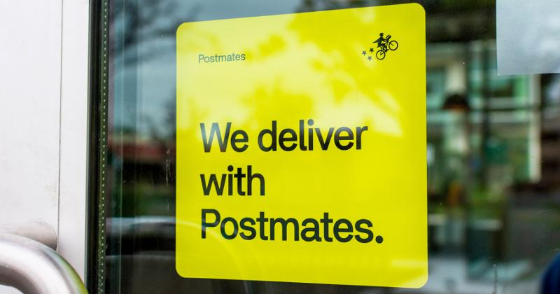 postmates sign