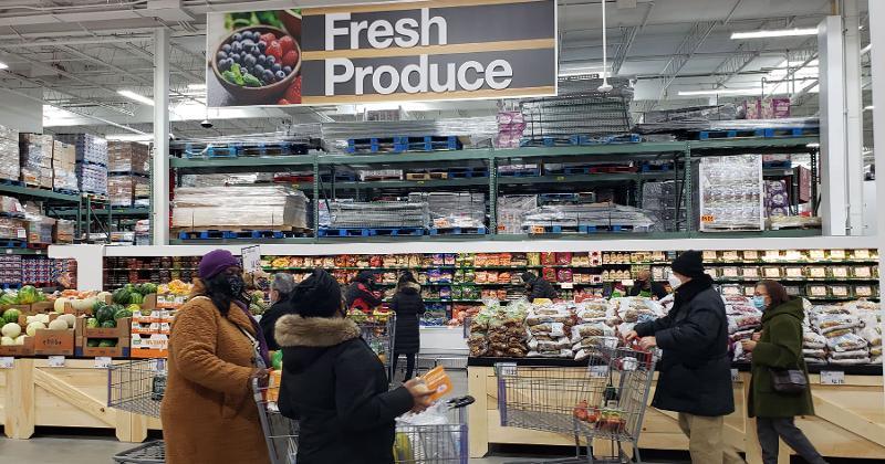 BJs fresh produce