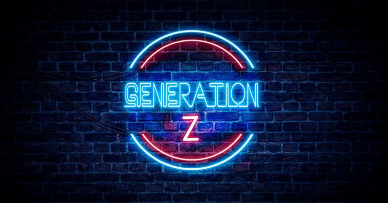Gen Z sign