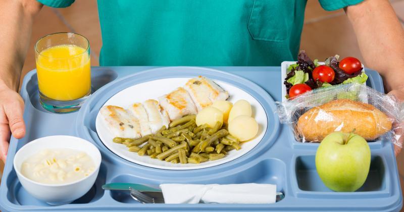 Hospital tray