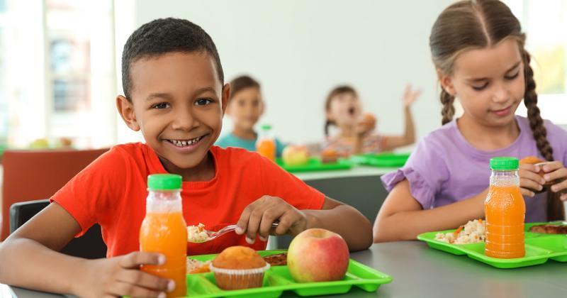 students food trays