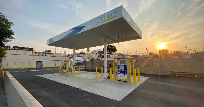 Trillium gas station