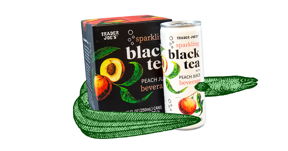 sparking black tea