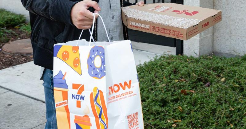 7-Eleven Pizza, 7Now Delivery